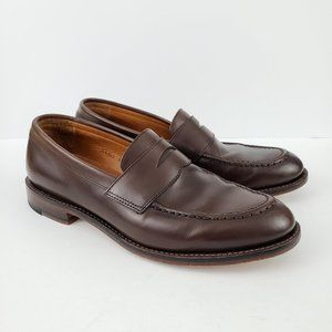 J.CREW Men's Ludlow Brown Leather Penny Loafers